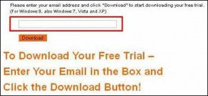 enter email to download free trial
