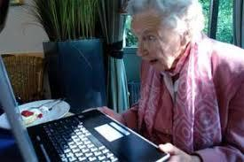 grandma seeing grand-daughter's sext image