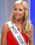Miss Teen USA, a victim of hacking and sextortion.