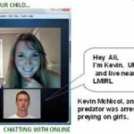See who your child is video chatting with online?