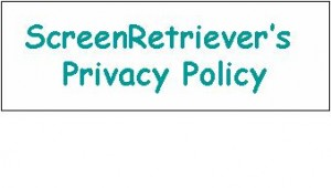ScreenRetriever's privacy policy
