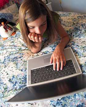 Monitor your child's computer activity and behavior because their Online Safety matters.