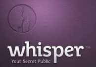 Whisper, the secret sharing mobile app